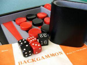 Backgammon er stadig populært efter 5000 år